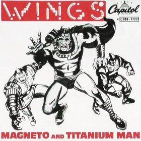 Single de Magneto and Titanium Man
